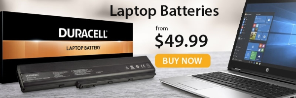 Laptop Batteries from Duracell Direct