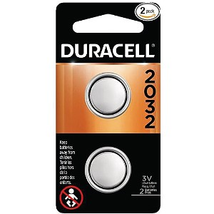 Duracell 3V Lithium Coin Cell - 2 Pack