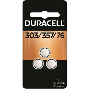 Duracell Silver Oxide Cell 1.5V 3 Pack