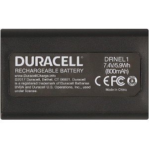 Duracell DRNEL1-US replacement for Nikon EN-ELI Battery