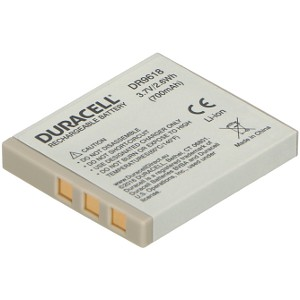 Duracell DR9618-US replacement for Ricoh D-LI8 Battery