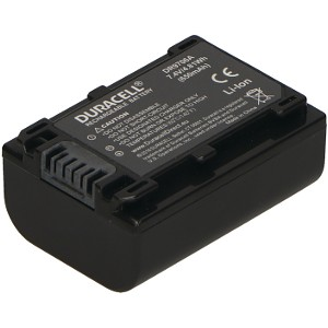 Duracell DR9706A-US replacement for Sony NP-FV50 Battery
