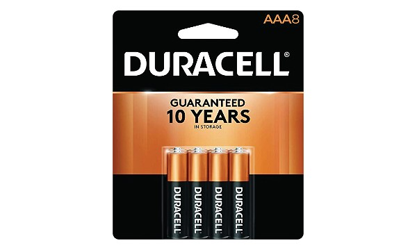Duracell Coppertop AAA 8 Pack