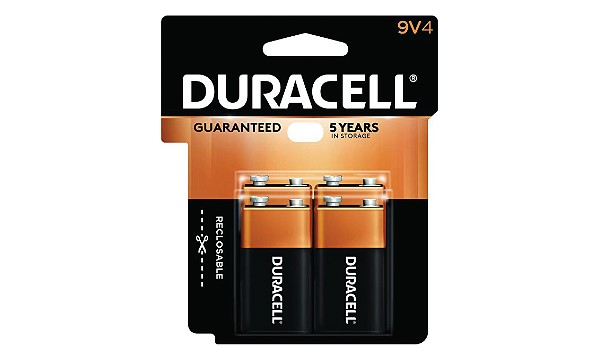 Duracell Coppertop 9V 4 Pack