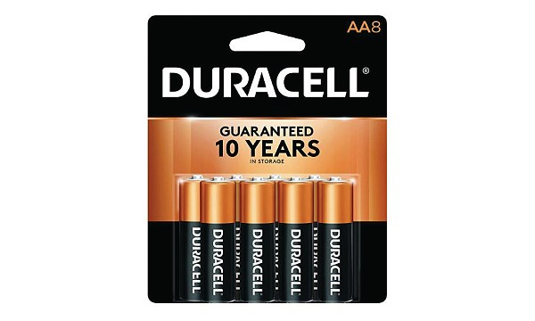 Duracell Coppertop AA 8 Pack