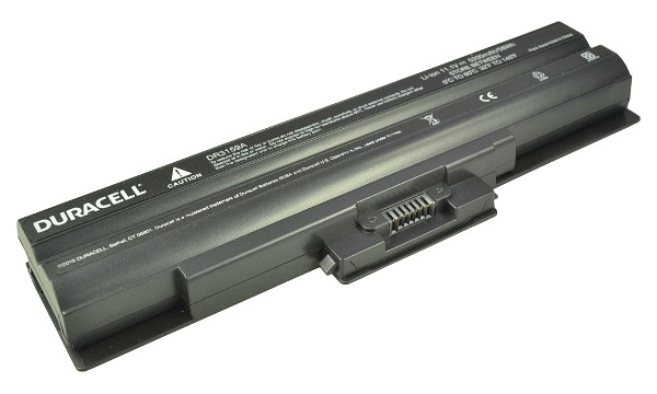 Vaio VGN-FW71DB/W Battery (6 Cells)