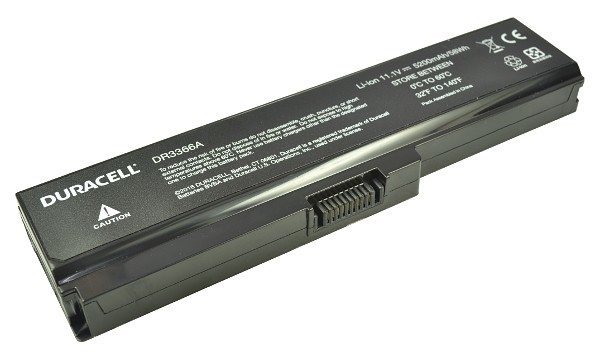 Satellite A665-15K Battery (6 Cells)