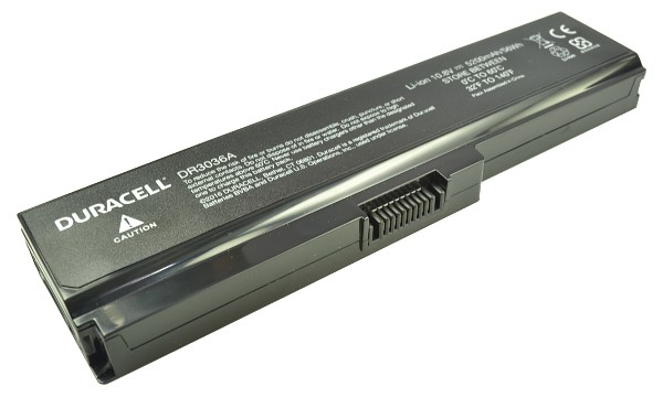 Satellite L655D-S5164BN Battery (6 Cells)